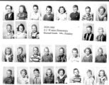 1959  2A  A.J. Winters Elementary School  Second Grade, Mrs. Pendrey