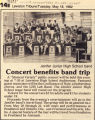 Concert Benefits Band Trip